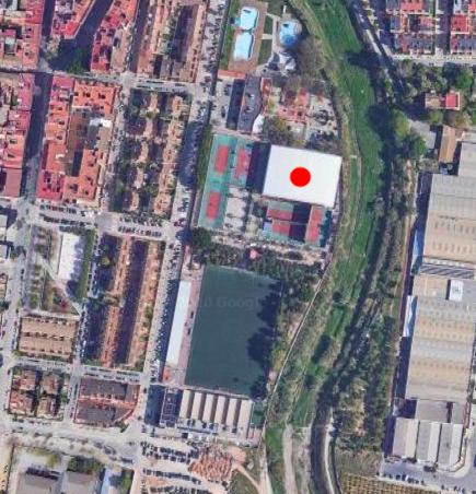 Mapa Polideportivo Paiporta Detalle